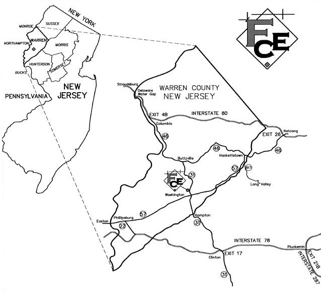 Finelli Consulting Engineers-directions New Jersey Location