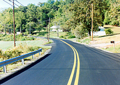 Shades of Death Resurfacing Project Independence Township, Warren County